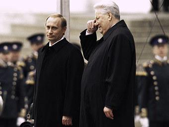 エリツィンとプーチン