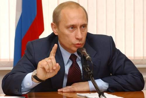 <ロシアのプーチン大統領>