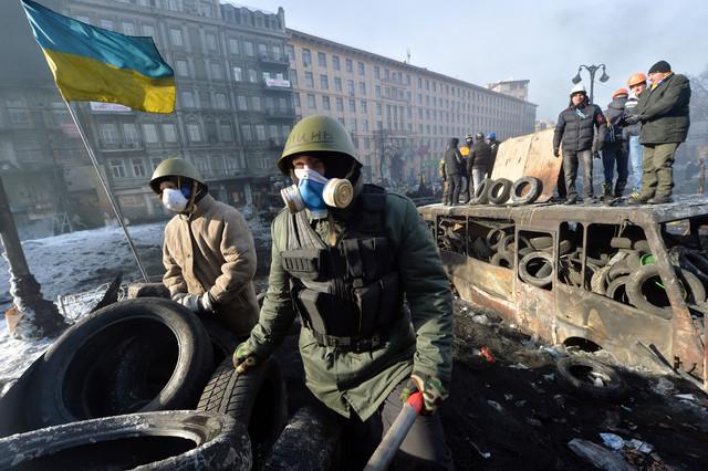 <ウクライナ紛争>