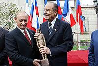 プーチンーシラク