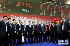中国原油先物取引